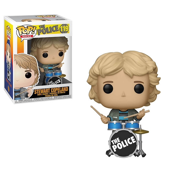 Pop! Rocks The Police Vinyl Figure Stewart Copeland #119