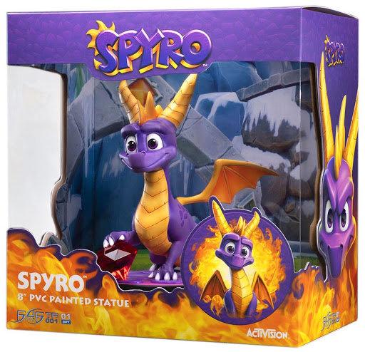 """Spyro 8"""" PVC Painted Statue"""