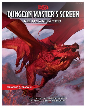 Dungeons & Dragons (5th Ed.): Dungeon Master's Screen Reincarnated
