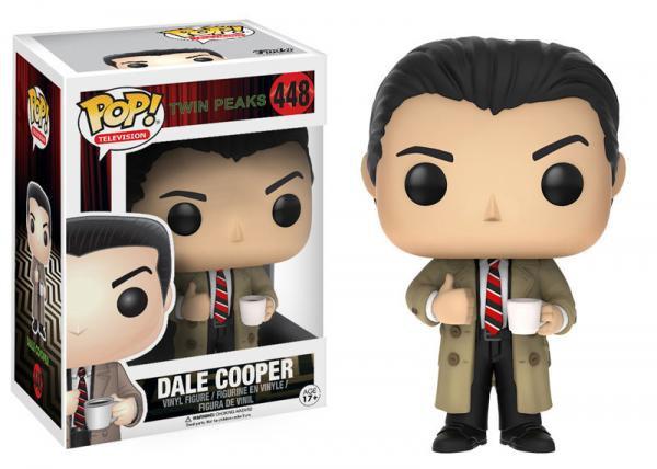 Pop! Television Twin Peaks Vinyl Figure Agent Dale Cooper #448
