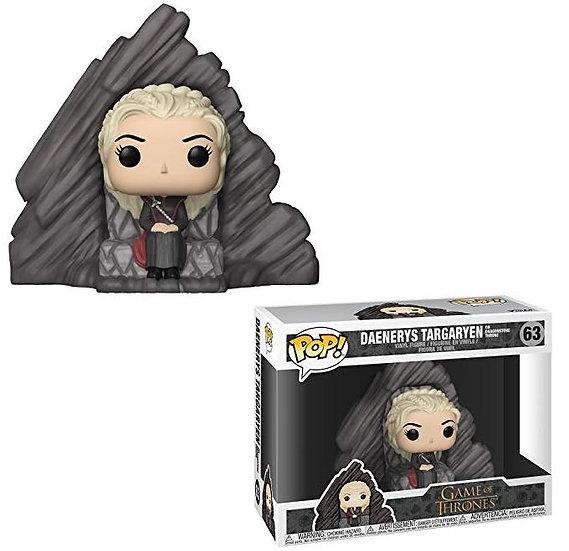 Funko POP! Game of Thrones: Daenerys on Dragonstone Throne #63