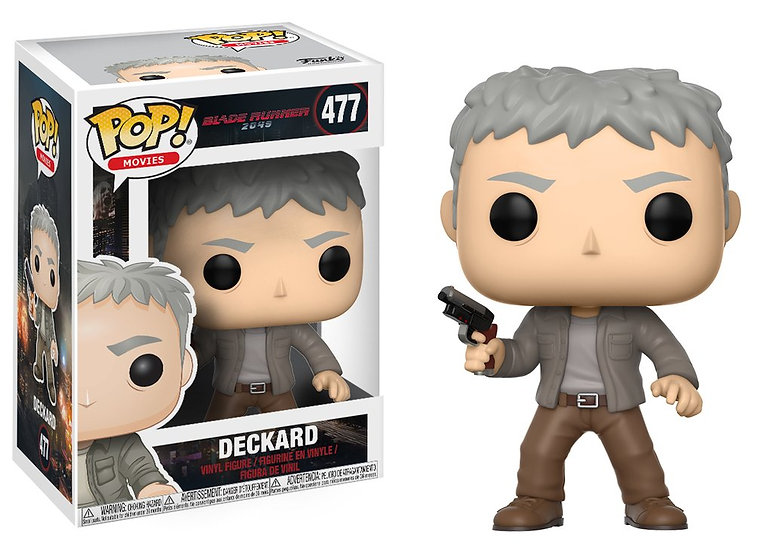 Pop! Movies Blade Runner 2049 Vinyl Figure Deckard #477 (Vaulted)