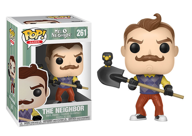 Pop! Games Hello Neighbor Vinyl Figure The Neighbor #261