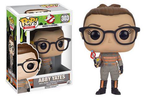 Pop! Movies Ghostbusters (2016) Vinyl Figure Abby Yates #303 (Vaulted)