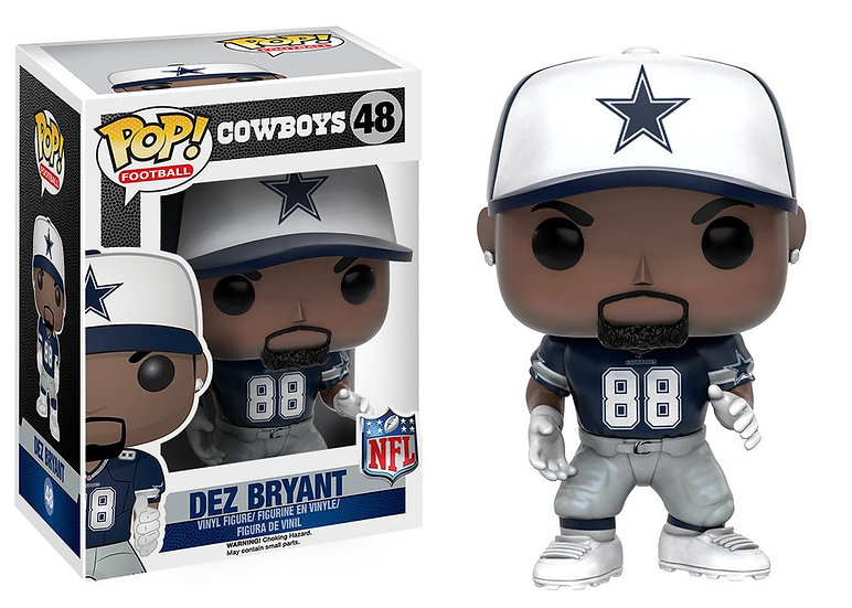 Pop! Football NFL Vinyl Figure Dez Bryant (Dallas Cowboys) #48
