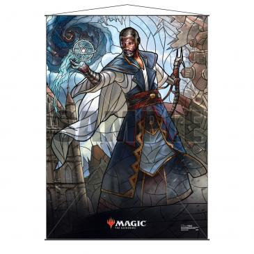 Stained Glass Planeswalkers Wall Scroll Teferi for Magic