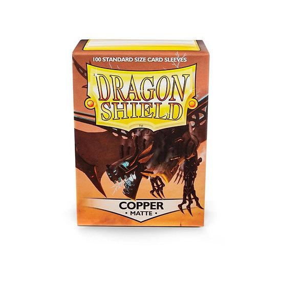 Dragon Shields: Matte Card Sleeves (100): Copper
