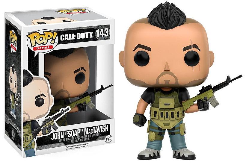 "Pop! Games Call of Duty Vinyl Figure John ""Soap"" McTavish #143 (Vaulted)"