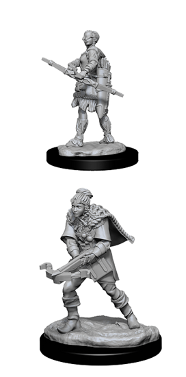 Dungeons & Dragons Nolzur's Marvelous Miniatures: FEMALE HUMAN RANGER