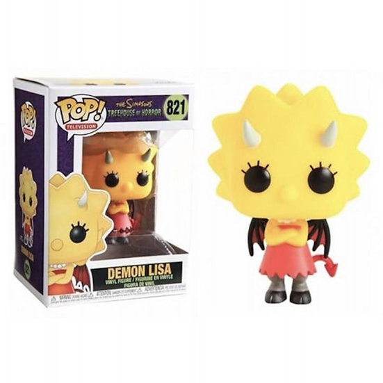 Pop! Television The Simpsons Treehouse of Horror Vinyl Figure Demon Lisa #821