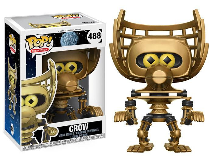 Pop! Television Mystery Science Theatre 3000 Vinyl Figure Crow #488