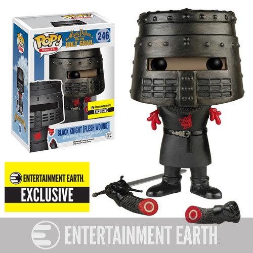 Pop! Movies Monty Python & the Holy Grail Black Knight (Flesh Wound) #246