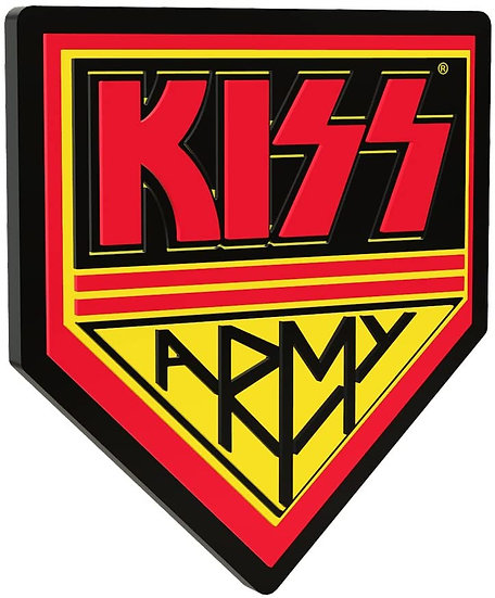 Kiss Army 3D Wall Sign