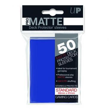 50ct Pro-Matte Blue Standard Deck Protectors