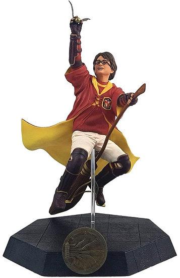 Harry Potter in Quidditch Uniform 8-Inch Statue