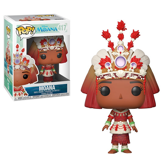 Pop! Disney Moana Vinyl Figure Moana (Ceremony) #417