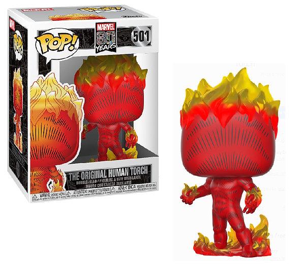 Pop! Marvel 80 Years Vinyl Bobble-Head The Original Human Torch #501