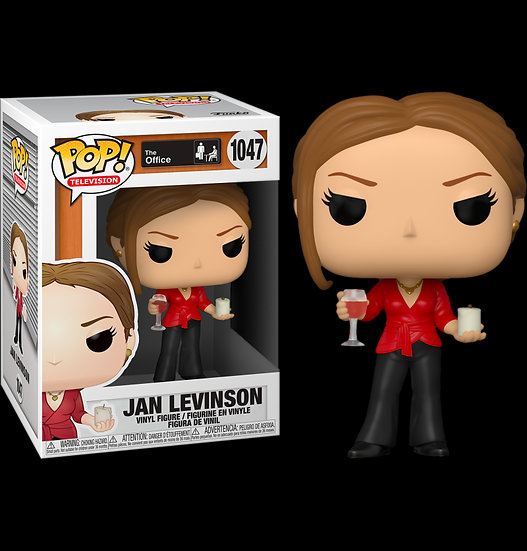 Pop! Television The Office Vinyl Figure Jan with Wine & Candle #1047