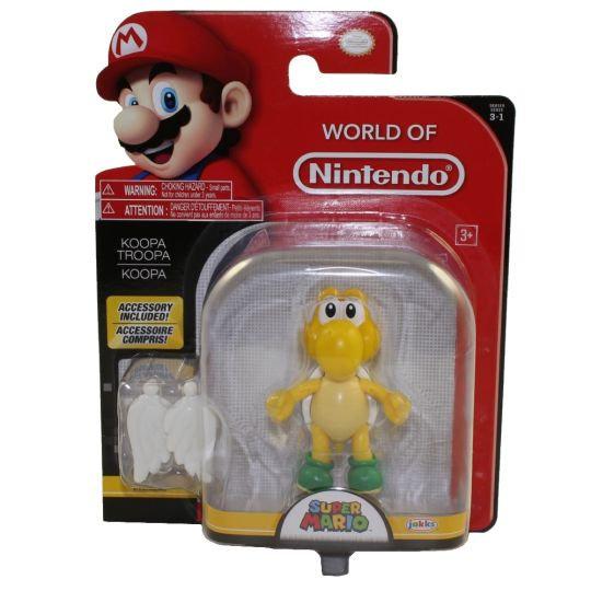 Jakks Pacific Toys - World of Nintendo Wave 13 Figure - KOOPA TROOPA w/ Wings