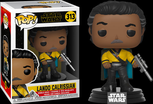 Pop! Star Wars The Rise of Skywalker Vinyl Bobble-Head Lando Calrissian #313