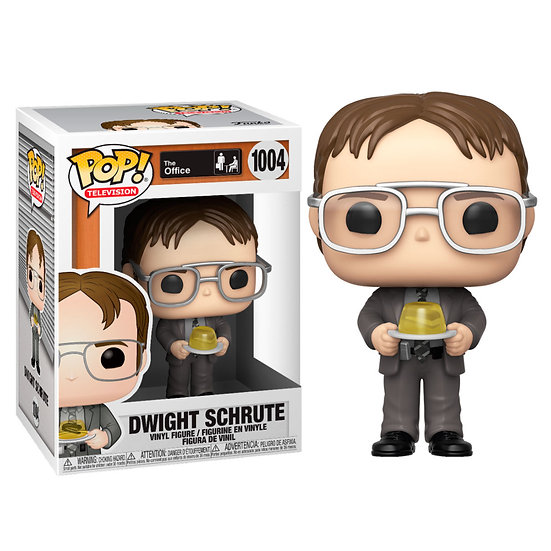 Pop! Television The Office Vinyl Figure Dwight Schrute (with Jello) #1004