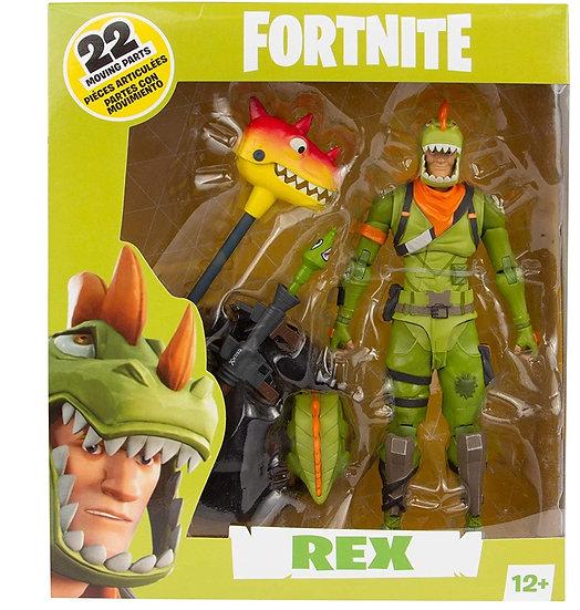 "McFarlane Toys Fortnite Rex 7"" Action Figure"
