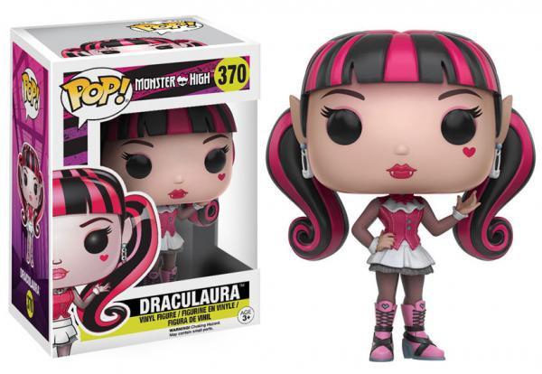 Pop! Movies Monster High Vinyl Figure Draculaura #370 (Vaulted)