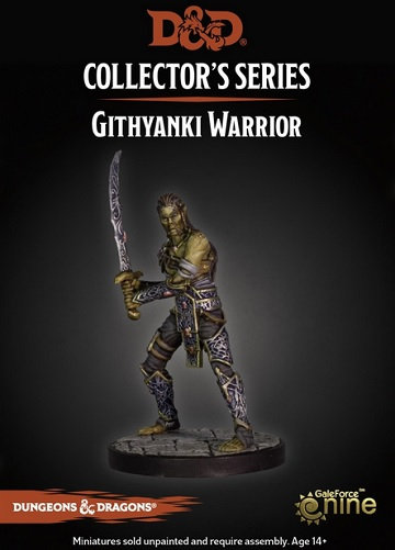 Dungeon of the Mad Mage - Githyanki Warrior Figure