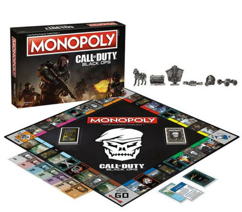 MONOPOLY®: Call of Duty® Black Ops Board Game