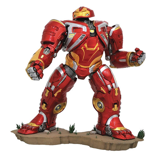 Marvel Gallery Avengers Infinity War Hulkbuster Iron Man MK2 PVC Diorama 10-inch