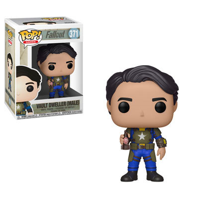 Pop! Games Fallout Vinyl Figure Vault Dweller (Male) #371