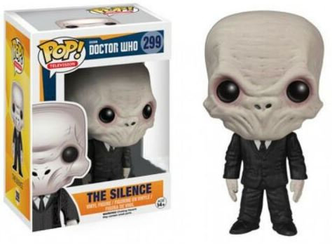 Doctor Who Funko POP! TV The Silence Vinyl Figure #299