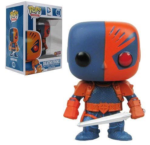 Pop! Heroes DC Comics Vinyl Figure Deathstroke #49 PX Exclusive (Box Damage)