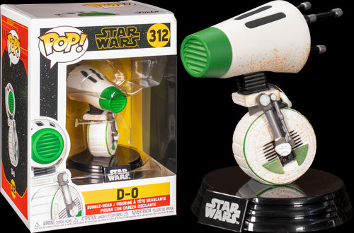 Pop! Star Wars The Rise of Skywalker Vinyl Bobble-Head D-O #312