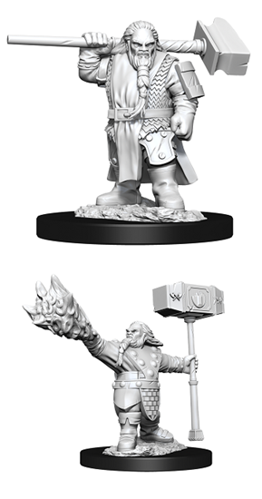 Dungeons & Dragons Nolzur's Marvelous Miniatures: MALE DWARF CLERIC