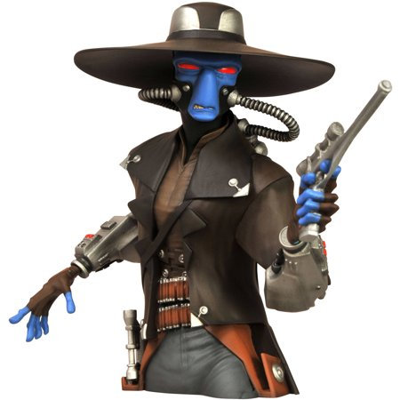 Diamond Select Toys Star Wars: Cad Bane Bust Bank Figure