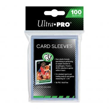 """Ultra pro 2-1/2"""" x 3-1/2"""" Antimicrobial Card Sleeves"""