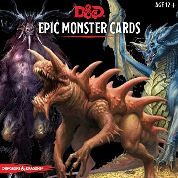 Dungeons & Dragons (5th Ed.): Epic Monster Cards