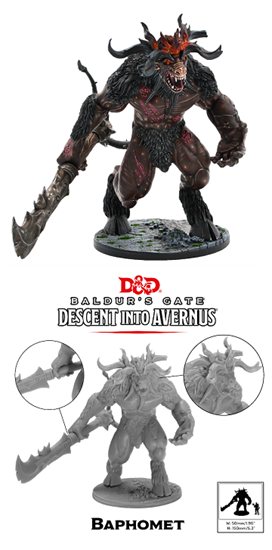 Dungeons & Dragons Collector's Series: Descent into Avernus: Baphomet