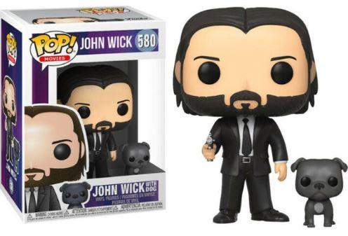 Pop Movies John Wick - John Wick With Dog #580
