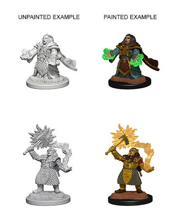 Dungeons & Dragons Nolzur's Marvelous Miniatures: Dwarf Cleric (Female)