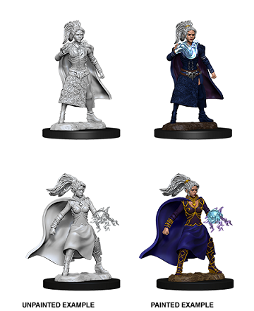 Dungeons & Dragons Nolzur's Marvelous Miniatures: Female Human Sorcerer