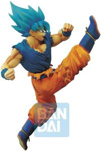 Dragonball Z Buyu Retsuden 6 Inch Static Figure Z-Battle Super Saiyan Blue Goku