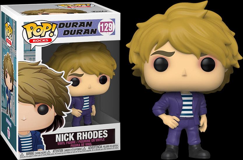 Pop! Rocks Duran Duran Vinyl Figure Nick Rhodes #129