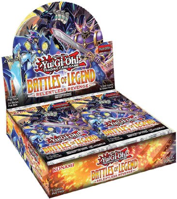 YuGiOh Trading Card Game: Battles of Legends - Relentless Revenge Booster Box