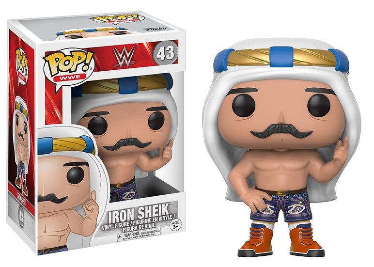 Pop! WWE Vinyl Figure Old School Iron Sheik #43 (Vaulted)