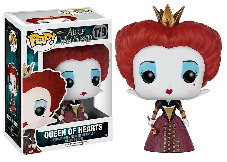Pop! Disney Alice in Wonderland Vinyl Figure Queen of Hearts #179 (Vaulted)