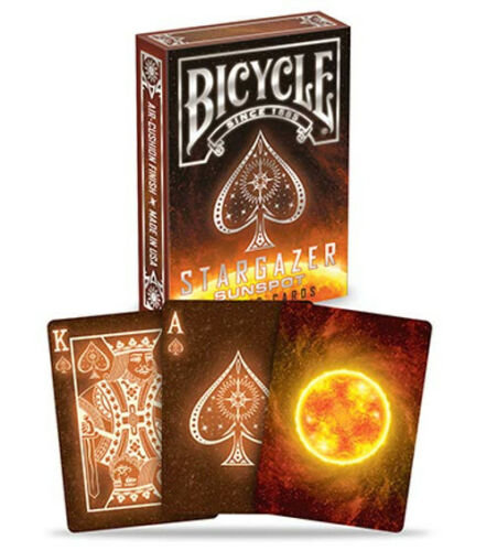 Bicycle Playing Cards: Stargazer Sun Spot