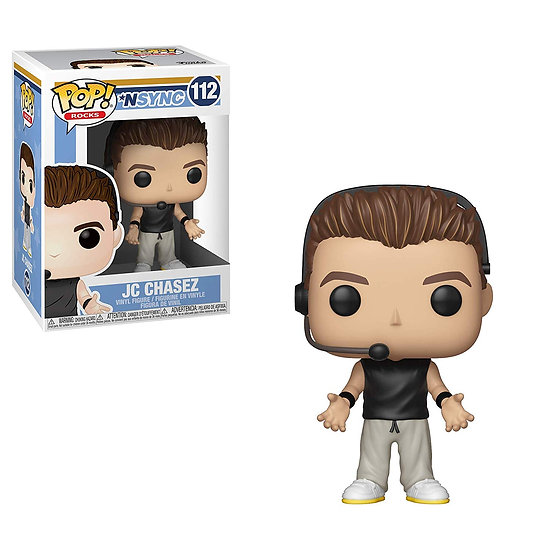 Pop! Rocks NSYNC Vinyl Figure JC Chasez #112