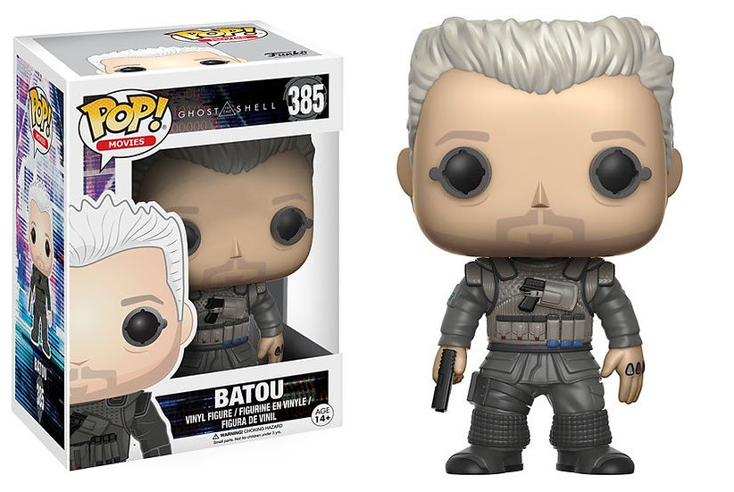 Pop! Movies Ghost in the Shell Vinyl Figure Batou #385 (Vaulted)